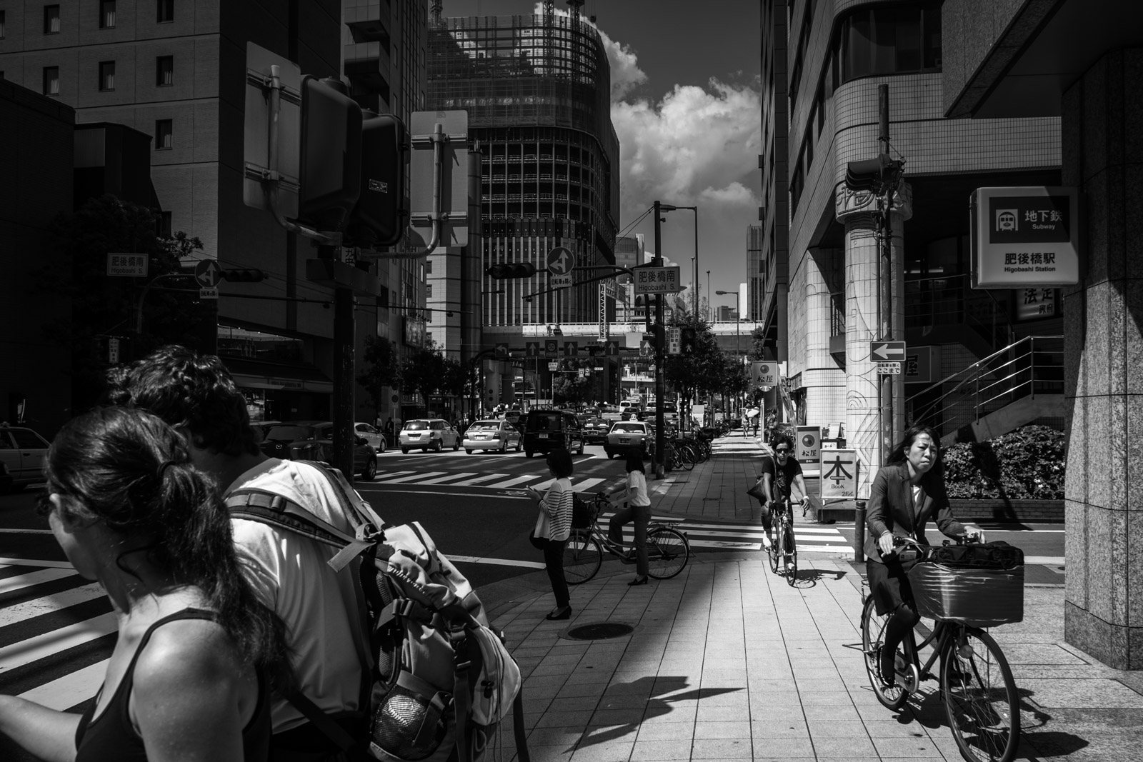 First steps in Osaka